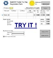 Click to try filling a 'dynamic' sample form